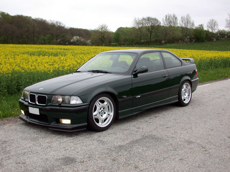 BMW M3 GT British Green