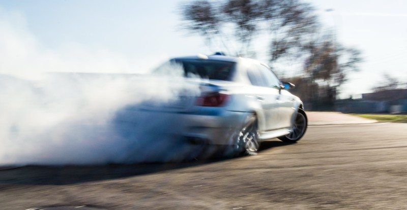 BMW M5 drift