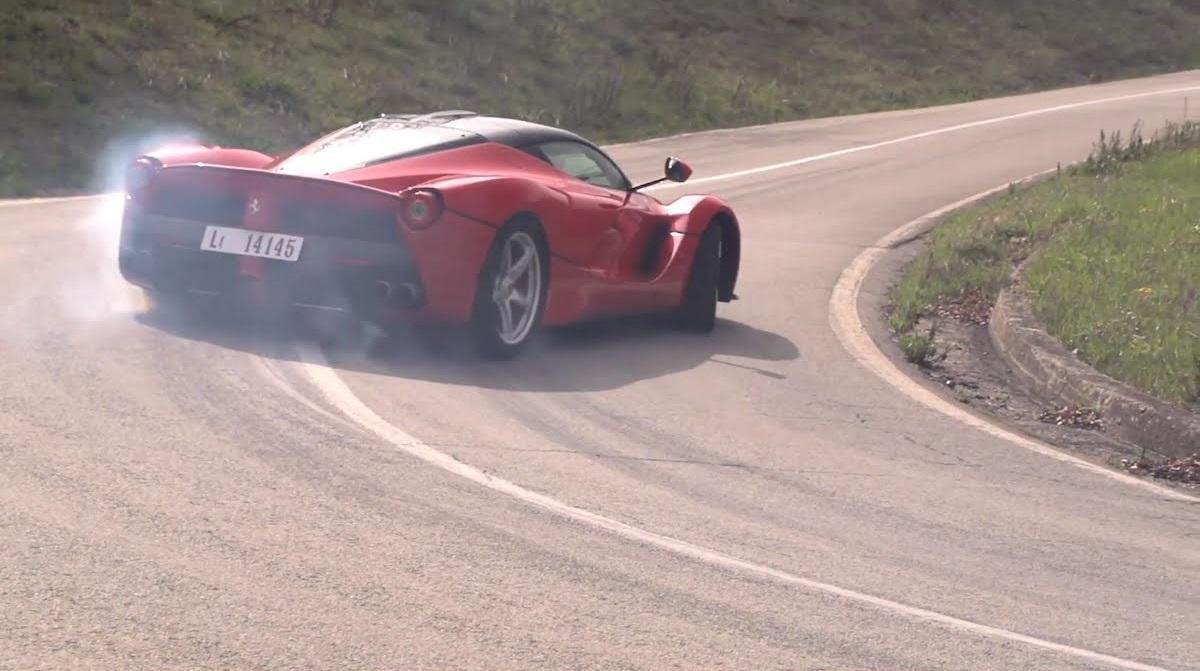 Ghris Harris La Ferrari