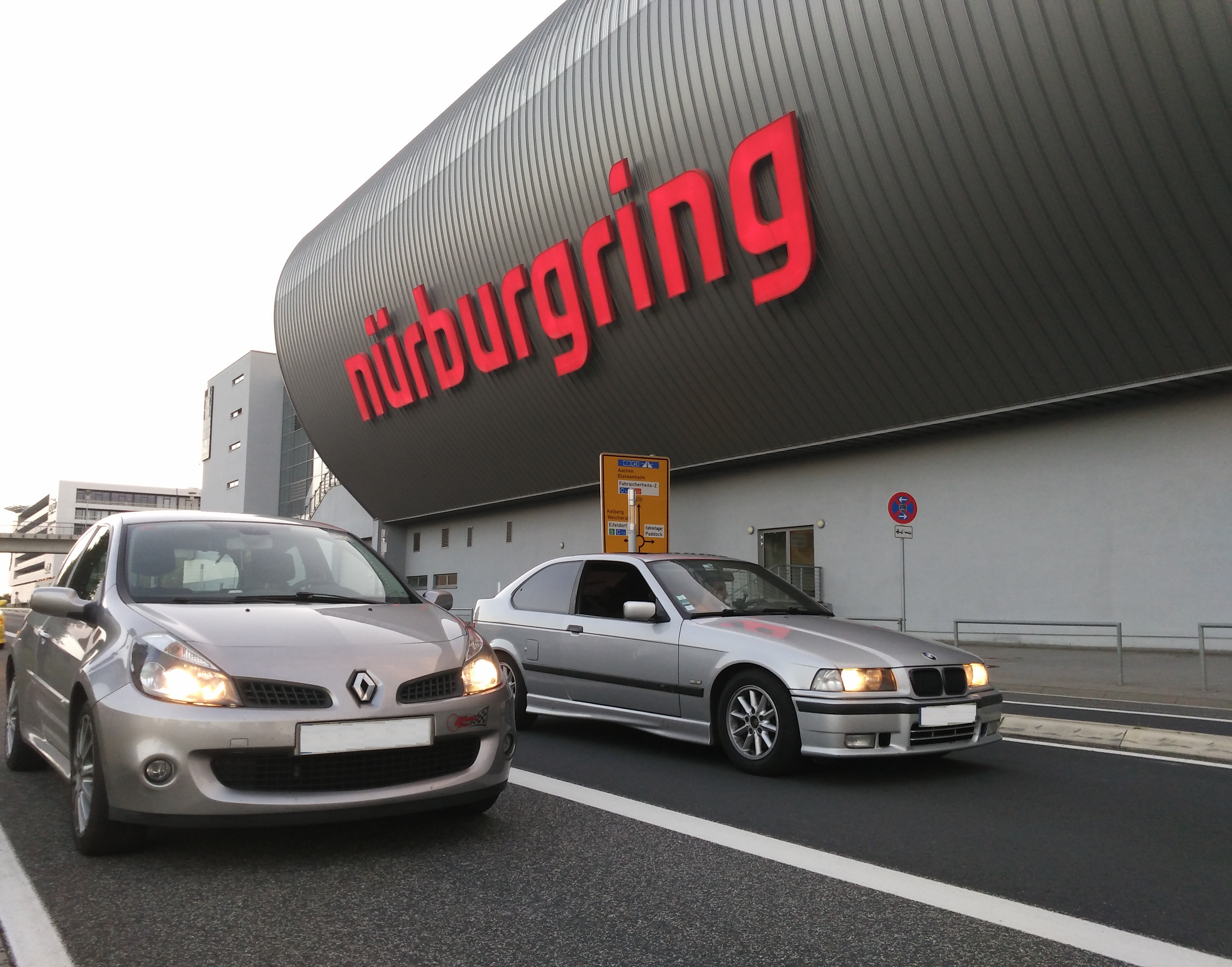 Clio 197 BMW Compact Nürburgring
