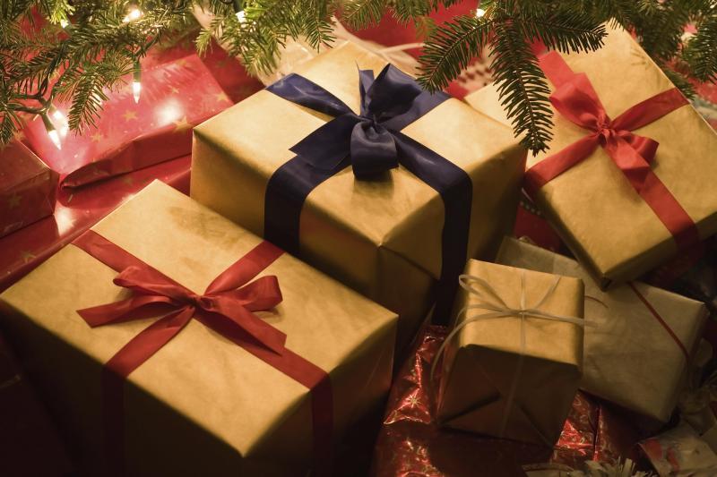 Foto de regalos de navidad