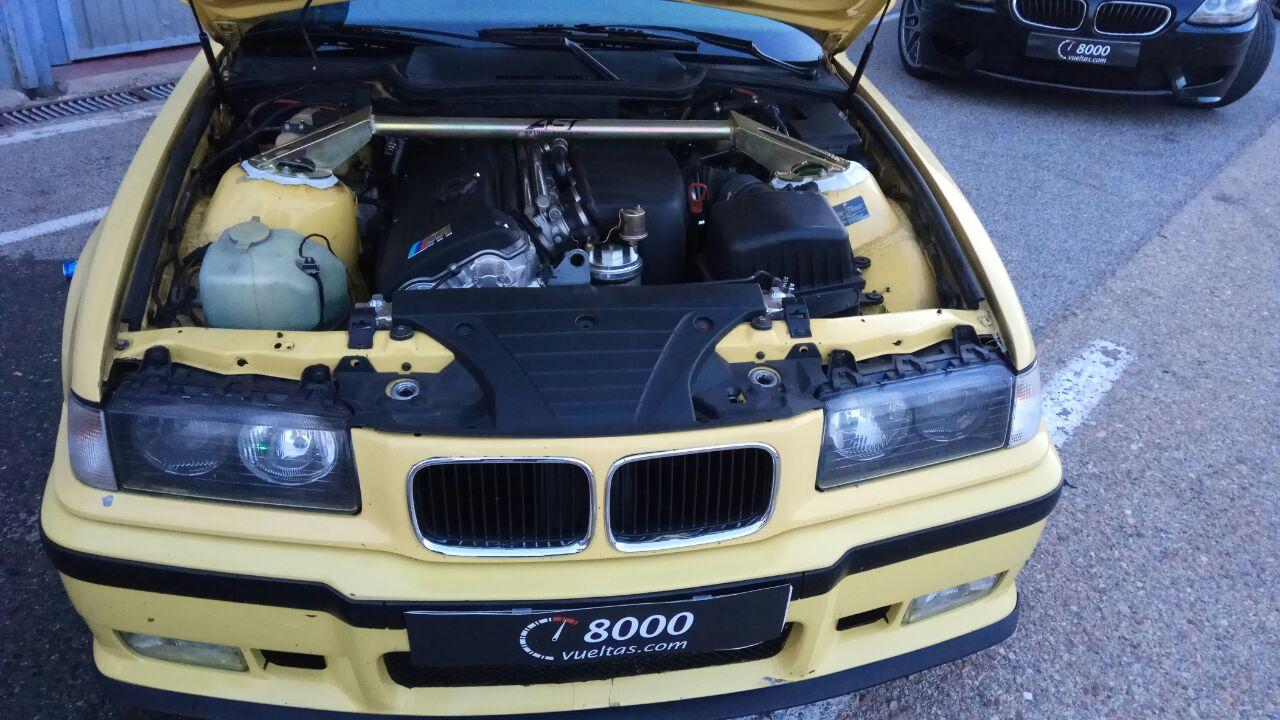 BMW M3 E36 Dakargelb