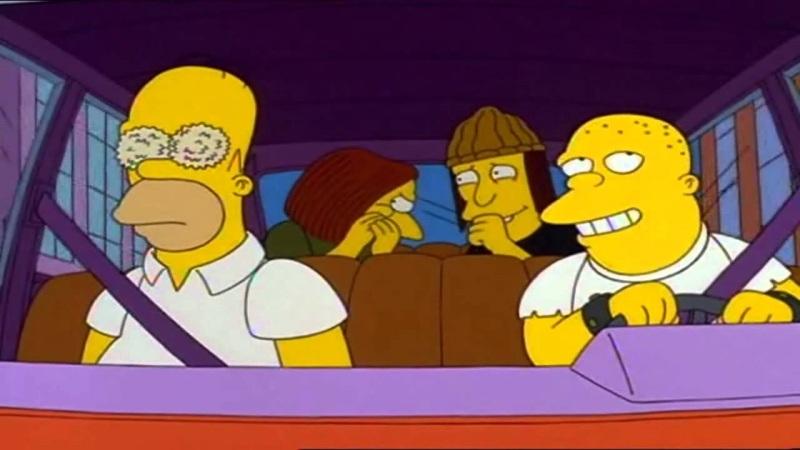 Homer Simpson ojos